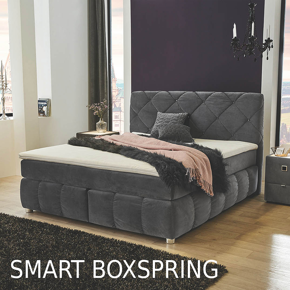 Unser smart Boxspringbetten-Sortiment