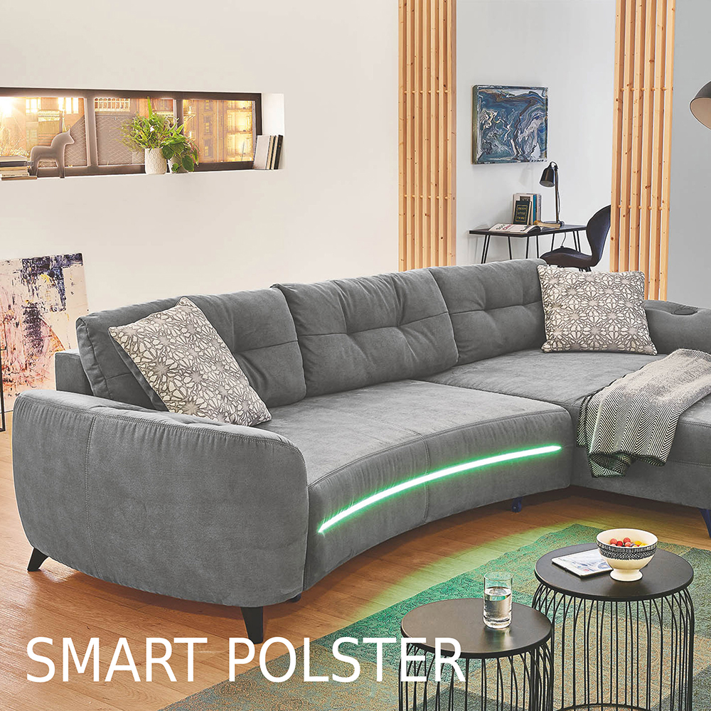Unser smart Polster-Sortiment